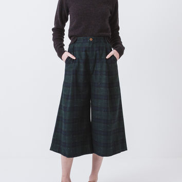 Plaid Surround Pants