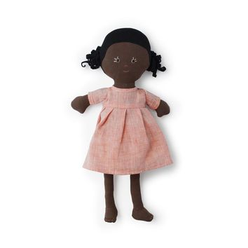 Ada Organic Girl Doll by Hazel Village