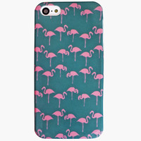 Ankit Flamingo Iphone 5/5S Case Blue Combo One Size For Women 25180024901