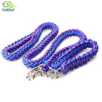 Dog leash for Big Dog collar rope for Large Dog Leashes Pet Traction Rope Collar Set For Big Dogs