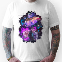 JoJo's Bizarre Adventure Jotaro Kujo/Star Platinum Version 1 Unisex T-