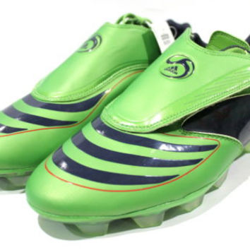 Adidas Men's F30.8 FG Green/Indigo Soccer Cleats size 12