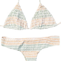 Tori Praver | Kalani Top + Saffron Bottom Bikini Separates (Marrakesh Seashell)