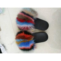 Coogi 90s Fur Slippers