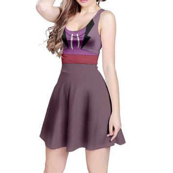 Dr. Facilier Shadow Man Princess and the Frog Inspired Sleeveless Dress