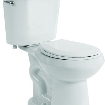 PREMIER SELECT® HIGH EFFICIENCY ALL-IN-ONE ROUND FRONT COMFORT HEIGHT TOILET WITH PLASTIC SEAT