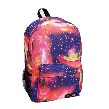School Backpack Women backpack for teenage girls school bag Stars Universe Space Printing Canvas Female Backpacks for college students Mochila AT_48_3