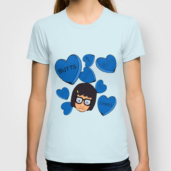 Tina Belcher T-shirt by Moremeknow | Society6