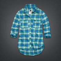 Bright Flannel Shirt