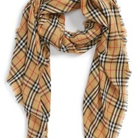 Burberry Vintage Check Cashmere Scarf | Nordstrom