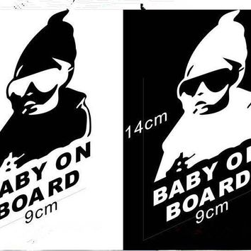 baby on board creative fashion car stickers for DODGE JCUV Journey RAM GMC CALIBER CHARGER CARAVAN NITRO CHALLENGER styling