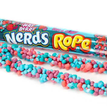 Wonka Very Berry Nerds Rope Candy Packs: 24-Piece Box
