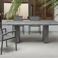 Parksville Beach Dining Table Grey
