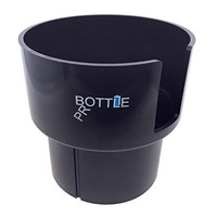 Bottle Pro - Car Cup Holder Adapter for Nalgenes (32oz), Hydro Flasks (32oz and 40oz), Klean Kanteens (32oz and 40oz), and Other Large Bottles