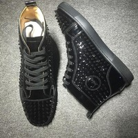 Cl Christian Louboutin Louis Spikes Style #1836 Sneakers Fashion Shoes - Best Deal Online