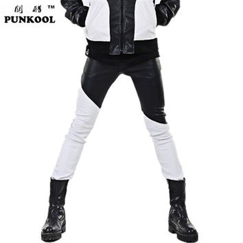 New Designer High Quality Mens Pu Leather Pants