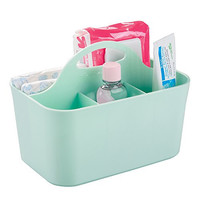 mDesign Baby and Toddler Closet or Nursery Organizer Caddy - Mint