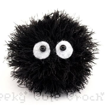 Soot Sprite Crocheted Amigurumi Plush Toy MADE TO ORDER