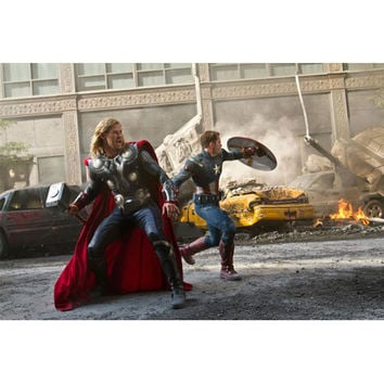 Avengers Movie Battle Of NYC Gallery Print