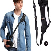Quick Rapid Camera Single Shoulder Sling Neck Strap For ALL DSLR SLR Cameras - CAST55