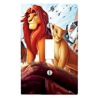Got You Covered Disney Baby Bedding Lion King Jungle Fun Light Switch Cover