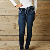 LA Idol Stitched Skinny Jeans CLEARANCE - Modern Vintage Boutique