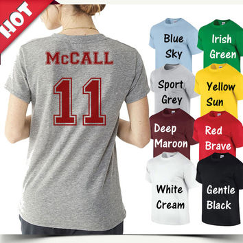 McCall Shirt Beacon Hills Teen Wolf Tshirt, custom tshirt unisex, male and female S-XXL