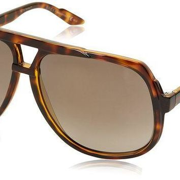 PEAPGQ6 Gucci Women's Oversized Aviator Sunglasses