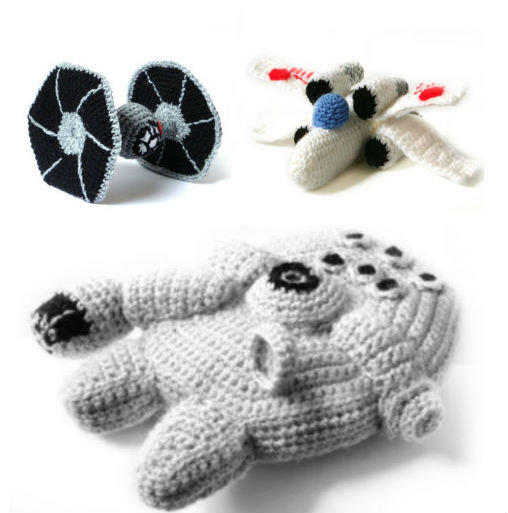 Amigurumi Sewing Machine Pattern : PDF of Star Wars Ships Amigurumi Crochet from ...