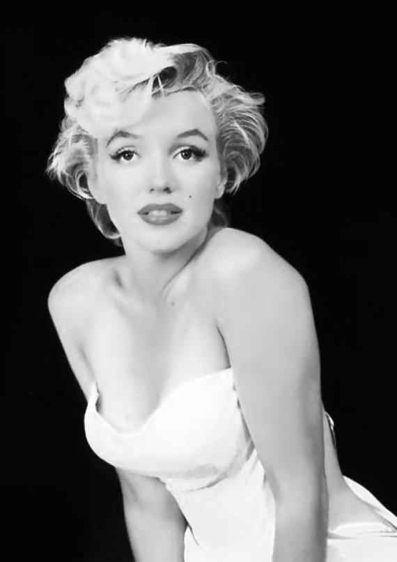 marilyn monroe poster portrait black and from bosidesginart on. Black Bedroom Furniture Sets. Home Design Ideas