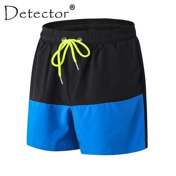 Detector Spring Summer Men's Fitness Gym Workout Training Sports Jogger Running Shorts Print Quick Dry Elastic Breathable