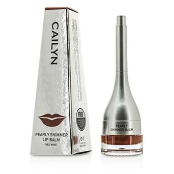 Pearly Shimmer Lip Balm - #06 Red Wine - 4g-0.14oz