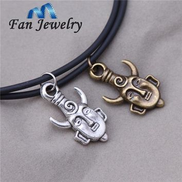 Men Jewelry Supernatural Inspired Dean's Amulet Dean Winchester Pendant Necklace XL008