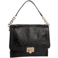 Cole Haan Vintage Valise Jenna Convertible Shoulder Bag,Black,one size