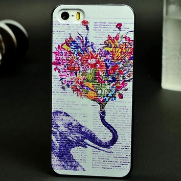 Loving Elephant Case for iPhone 5/5S