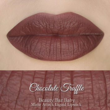 Liquid Lipstick Chocolate Truffle Matte Attack Liquid Lipstick