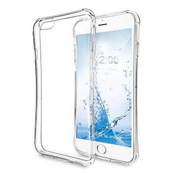 iPhone 6S Case, Kroma? [Primatic Series] Crystal Clear iPhone 6 and 6S Case, 99.9% Transparency, Clear back panel + TPU bumper