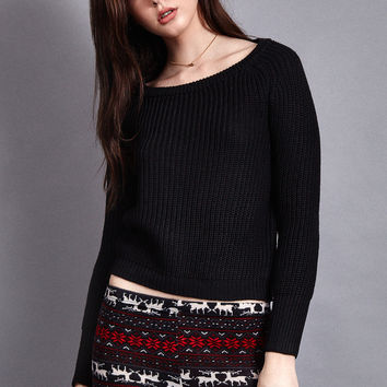 Leia Cropped Sweater