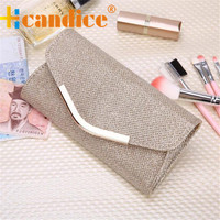 Brand new Evening Party Clutch Bag Hot Ladies Upscale Small Gold Clutches Purse Handbag 1pcs