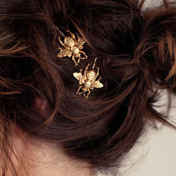 Bee Seen Bobby Pins - Hair Accessory