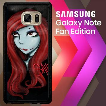 Sally The Nightmare Before Christmas Y0861 Samsung Galaxy Note FE Fan Edition Case
