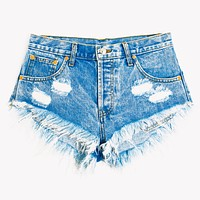 Keepers Acid Babe High Waisted Jeans Shorts