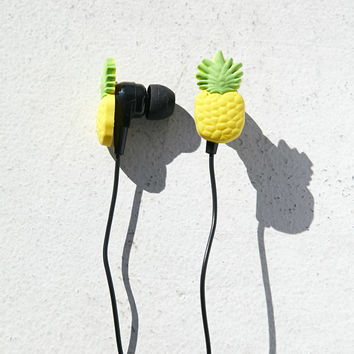 Pineapple-Shaped Earbuds