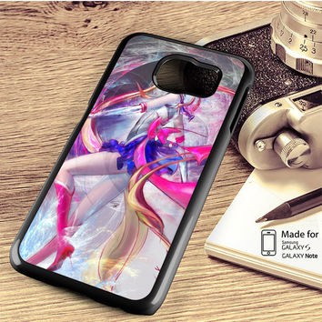 Sailor Moon Art Samsung Galaxy S4 Case, S5 Case, S6 Case, S6 Edge Case, S6 Edge Plus Case, S7 Case, S7 Edge Case, Note 3 Case, Note 4 Case, Note 5 Case, Note Edge Case