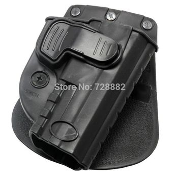 Tactical Holster Right Hand Belt Loop Paddle Rapid Release