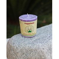 Votive Happiness Candle