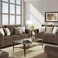 5040 - The Spellbound Living Room Set - Brown