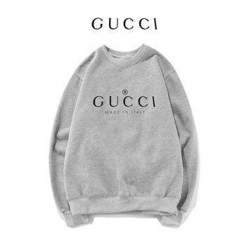GUCCI Fashion Print Top Sweater Pullover