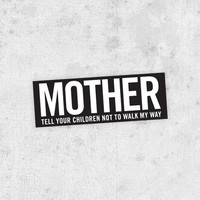 "Danzig sticker! ""Mother"" lyric bumper sticker! heavy metal, glen danzig, the misfits, samhain, black sabbath"