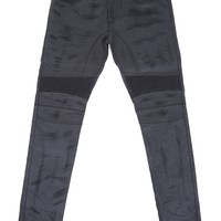 Eastham Resin Coated Stretch Denim